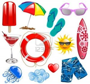 16452279-summer-time-vector-collection-elements-1
